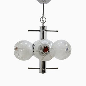 Mid-Century Murano Chandelier from Mazzega, 1970s