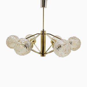 Mid-Century Atomic Chandelier from Honsel, 1970s