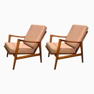 Type 300 139 Armchairs from Swarzędz Furniture Factory, 1960s, Set of 2
