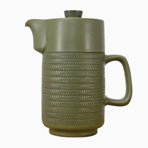 Cafetera Chevron de G. Pemberton para Denby England, años 60