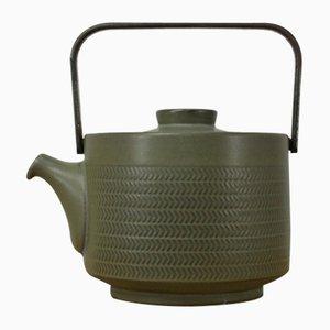 Chevron Teekanne von G. Pemberton für Denby England, 1960er