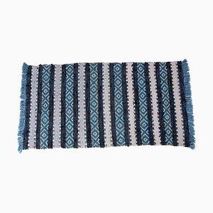 Handgewebter schwedischer Teppich, 1950er