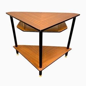 Vintage Teak Corner Table
