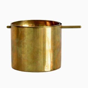 Kleiner Aschenbecher aus Messing von Arne Jacobsen für Stelton, 1950er