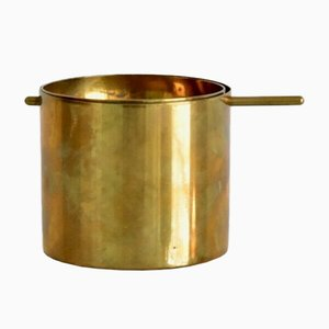 Small Brass Ashtray by Arne Jacobsen for Stelton, 1950s