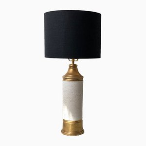 Scandinavian Modern Large Ceramic Table Lamp by Bitossi for Bergboms, 1960s