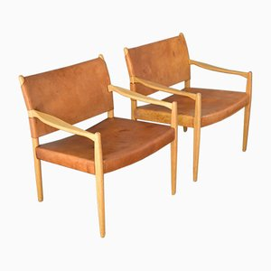 Modell 69 Chairs by Per-Olof Scotte for Ikea, 1960s, Set of 2