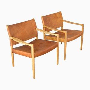 Sillas modelo 69 de Per-Olof Scotte para Ikea, años 60. Juego de 2