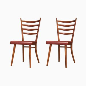 Vintage Danish Chairs, Set of 2