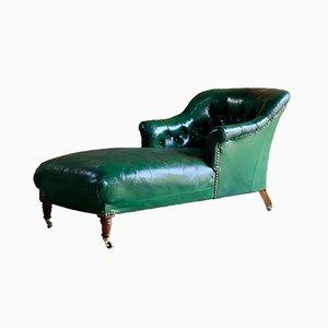 Chaise longue Napoleone III antica, metà XIX secolo