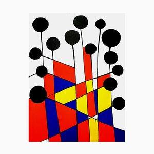 Lithograph by Alexander Calder, 1971