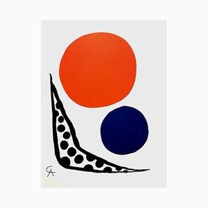 Lithographie par Alexander Calde pour Mourlot, 1964