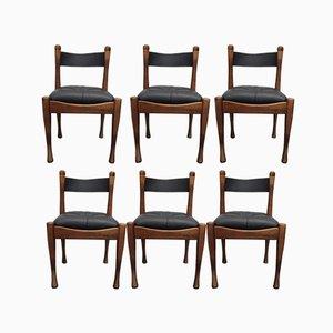 Chaises d'Appoint Vintage par Silvio Coppola pour Bernini, 1968, Set de 6