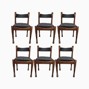 Vintage Side Chairs by Silvio Coppola for Bernini, 1968, Set of 6