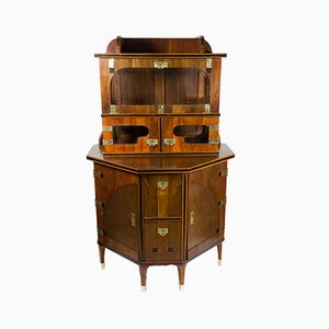 Mueble bar vienés de August Ungethum, década de 1900