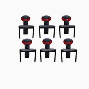 Chaises d'Appoint Vintage, 1970s, Set de 6