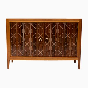 Double Helix Rosewood & Mahogany Sideboard by David Booth & Judith Ledeboer for Gordon Russell, 1950s