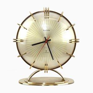 Reloj de mesa alemán vintage de Europa