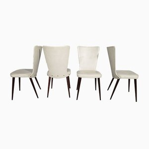 Corset Dining Chairs, 1970s, Set of 6