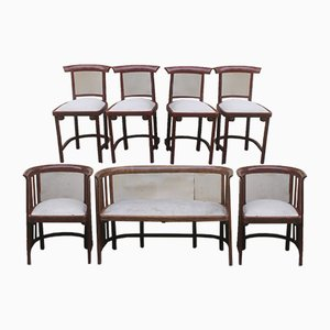 Antique Living Room Set by Josef Hoffmann