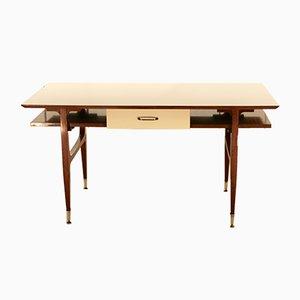 Italian Mahogany Desk, 1960s