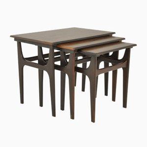 Tavolini ad incastro di Kai Kristiansen per Skovmand & Andersen, anni '60