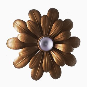 Flower Ceiling Or Wall Lamp, 1970s