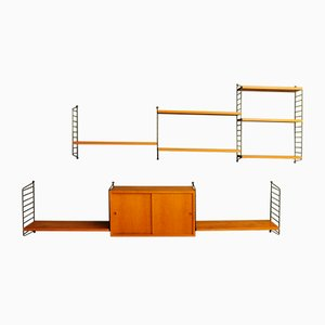 Modular Shelving Unit by Kajsa & Nisse Strinning, 1960s