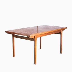 Table Extensible en Teck, France, 1960s