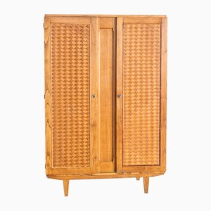 French Chestnut Wardrobe, 1960s