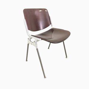 Chaise DSC 106 Vintage par Giancarlo Piretti pour Castelli