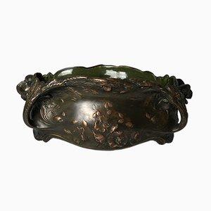 Macetero antiguo de cobre de De Bruyn