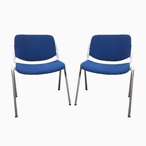 DSC106 Stühle von Giancarlo Piretti für Anonima Castelli, 1970er, 2er Set