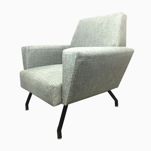 Mid-Century Italian Lounge Chair by Marco Zanuso