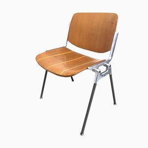 Vintage Stuhl von G. Piretti für Castelli