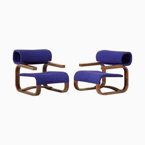 Moderne Sessel von Jan Bocan für Thonet, 1972, 2er Set