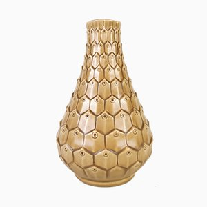 Vase Reptile en Céramique par Ewald Dahlskog pour Bofajans, 1940s