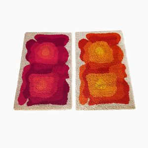Modernist High Pile Rya Rug from Desso, 1970s, Set of 2