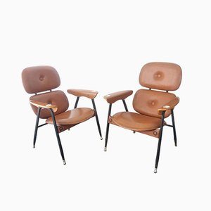 Lounge Chairs from Poltronova, 1960s, Set of 2