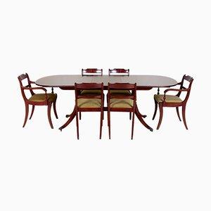 Tavolo da pranzo vintage e sei sedie di Greaves & Thomas