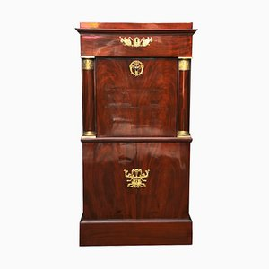 Small Empire Mahogany Secretaire, 1815