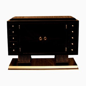 Small Art Deco Sideboard with 10 Drawers, 1930s