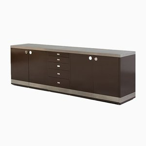 Large Modernist Sideboard by Willy Rizzo, 1970s