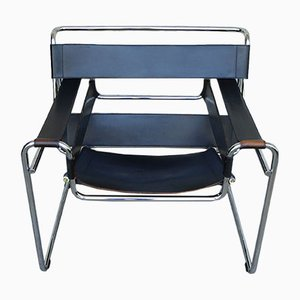 Vintage B3 Wassily Chair by Marcel Breuer for Gavina, 1960s