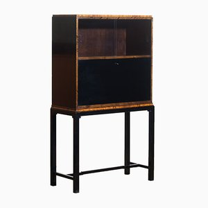 Art Deco Secretaire Cabinet by Axel Einar Hjorth for Nordiska Kompaniet, 1924