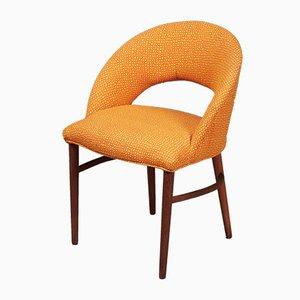 Chaise de Coiffeuse en Teck par Frode Holm, 1960s