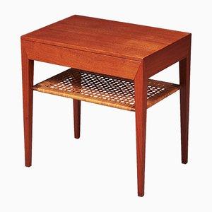 Nachttisch von Severin Hansen für Haslev Møbelsnedkeri, 1950er