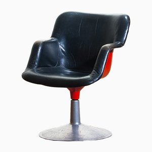 Vintage Junior Swivel Chair by Yrjö Kukkapuro for Haimi, 1960s