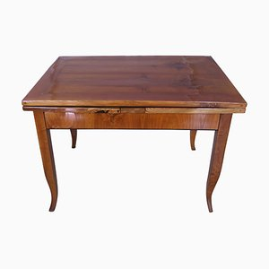 Biedermeier Austrian Ash Extendable Table, 1830s
