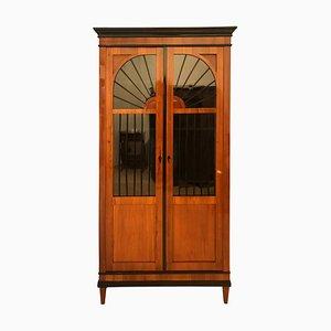 Biedermeier Cherry Vitrine/Bookcase, 1820s